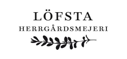 Löfsta Herrgårdsmejeri - Logo